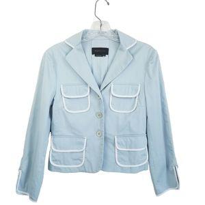 BCBGMAXAZRIA sky blue jacket